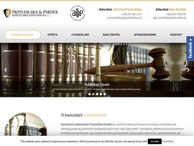Radca prawny i prawnik Opole