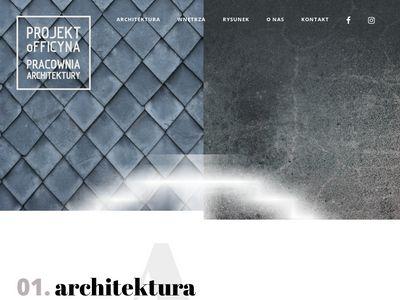Projekt Officyna-kurs rysunku architektonicznego
