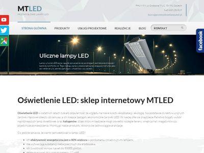 MTLED uliczne lampy led