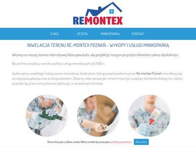 Re-Montex - profesjonalne wykopy