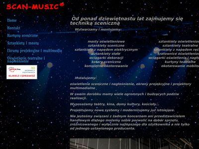 http://scanmusic.pl - kotara sceniczna