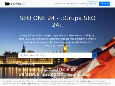 SEO ONE 24 - innowacyjny katalog