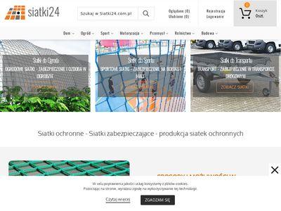 Siatki24.com.pl - siatka osłonowa