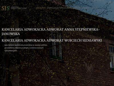 ADWOKACI SJS Prawo administracyjne