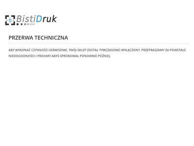 Drukarnia internetowa BISTI - tanie drukowanie