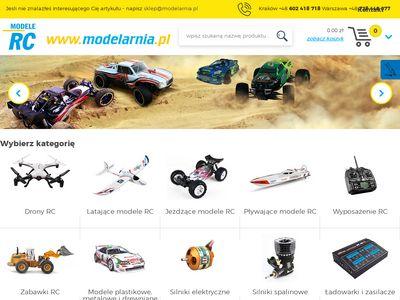 www.sklep.modelarnia.pl samochód zdalnie