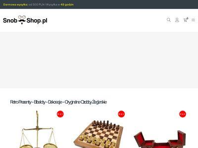 Luneta skórzana - Snob Shop