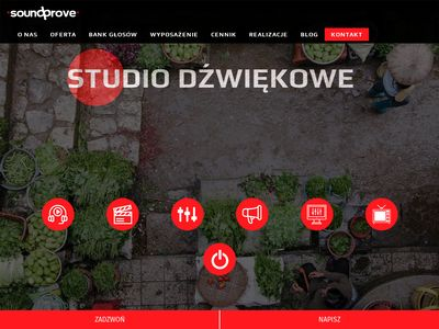 Studio nagrań SoundProve, produkcja spotów reklamowych