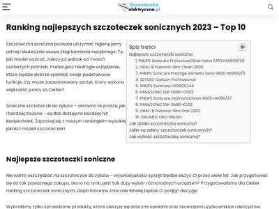 Irygatory dentystyczny Waterpik Poznań - specjalistyczny sklep
