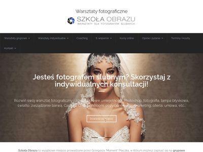 Szkoła Obrazu - warsztaty fotograficzne