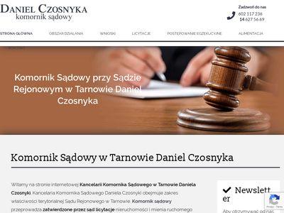 M. PIASECKI kancelaria komornika Tarnów