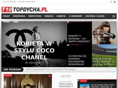 TOPDycha | T10 - Świat sprowadzony do TOP10