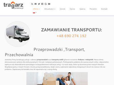 Tragarz - Przeprowadzki