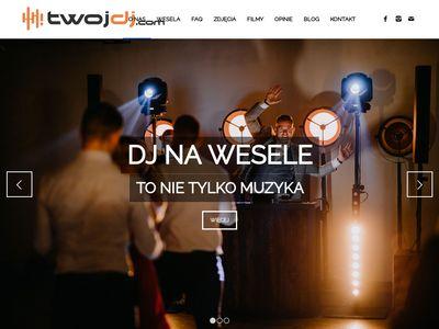 Twojdj.com - DJ Poznań na wesele, DJ na imprezę, nagłośnienie i oświetlenie