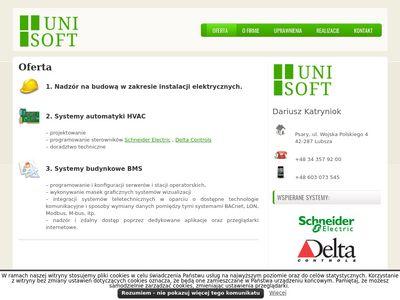 Unisoft, Dariusz Katryniok Systemy Zarządzania Budynkami BMS