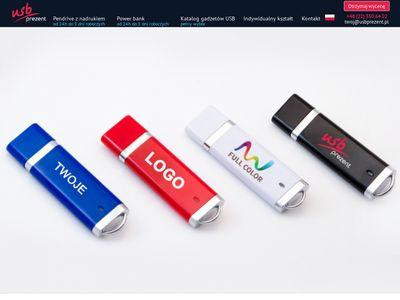 Pendrive z nadrukiem od USBprezent