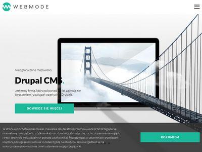 Tworzenie stron www w Drupal - Webmode