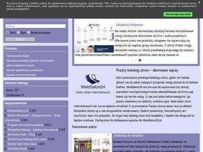 websalon24.pl - darmowy katalog stron