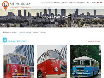 WE LOVE WARSAW - co zwiedzać w warszawie