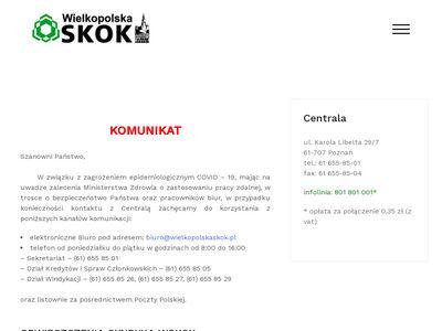 Wielkopolska SKOK - sprawdź pożyczki, konta, polisy