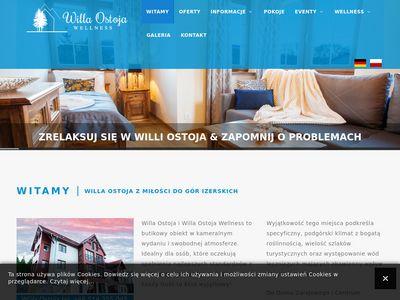 Willa Ostoja - Pensjonat i Pokoje w Świeradowie