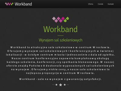 Sale szkoleniowe Workband