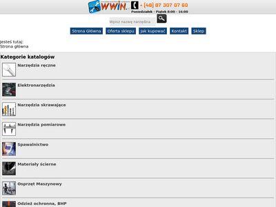 Sklep z narzędziami - WWiN.pl