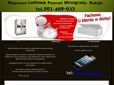 Naprawa Lodówek Poznań