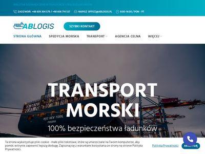 Transport morski - Ablogis Sp. z o. o.