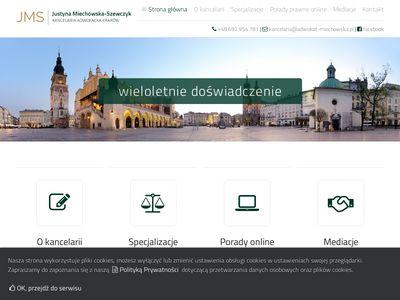 Adwokat Kraków, Porady prawne Kraków
