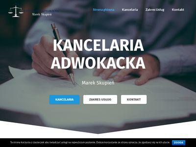 SKUPIEŃ MAREK kancelaria prawna Wodzisław Śląski