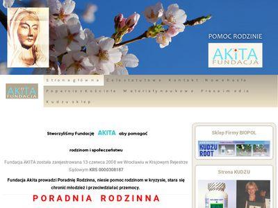 Pomoc w Uzależnieniach Fundacja Akita Wrocław