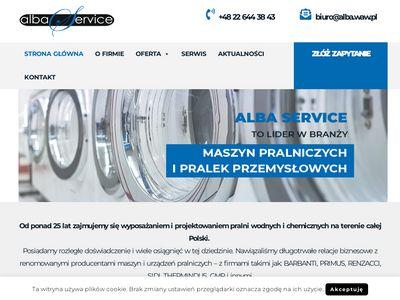 Alba - naprawa maszyn pralniczych warszawa
