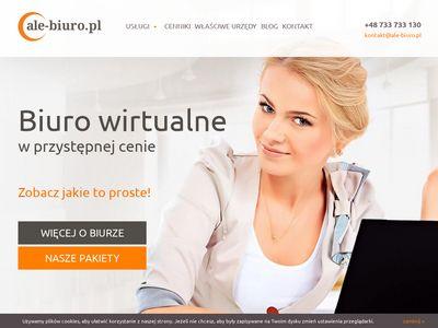 ale-biuro.pl - Wirtualne biuro Warszawa