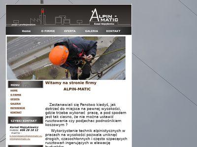 Prace alpinistyczne poznań