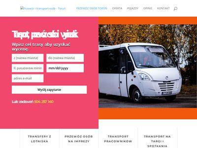 Przewóz osób - ANGAS Toruń