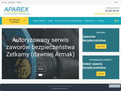APAREX Zawór bezpieczeństwa pełnoskokowy