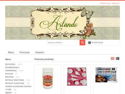 Artando - sklep dla twórców rękodzieła