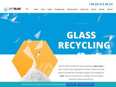 ArtGlas Recykling - odpady szklane