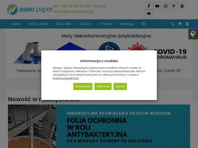 ASEO PAPER czyściwo papierowe