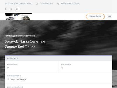 Taxi Gdańsk | Transfery na Lotnisko | Transport Vip