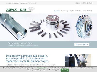 Narzędzia diamentowe - awax-dia.com.pl