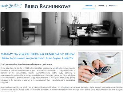 Biuro rachunkowe Henisz. Świętochłowice, Śląskie.
