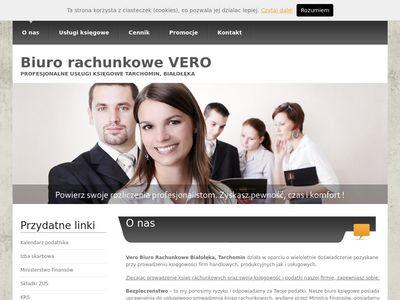 Biuro rachunkowe Białołęka - usługi księgowe   Biuro Vero