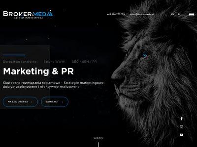 Broker Media - Profesjonalne Strony Internetowe - Warszawa