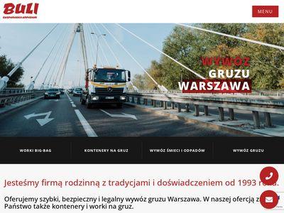 Www.buli.com.pl kontenery na gruz