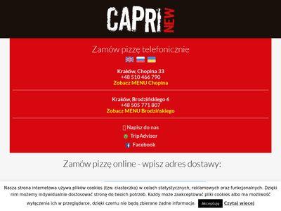 Jedzenie, Pizzerie Kraków