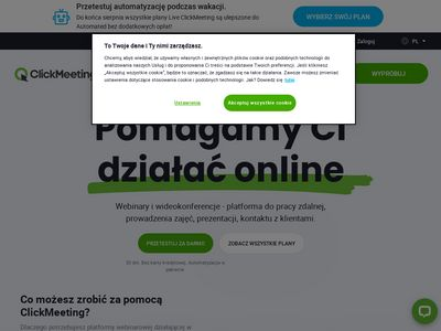 Szkolenia online - ClickWebinar