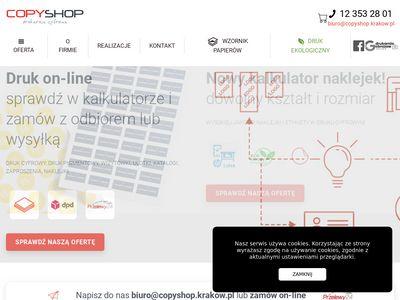 Druk cyfrowy, offsetowy, plakaty, wizytówki - Drukarnia Kraków
