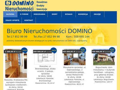 Nieruchomości Rzeszów - Domino